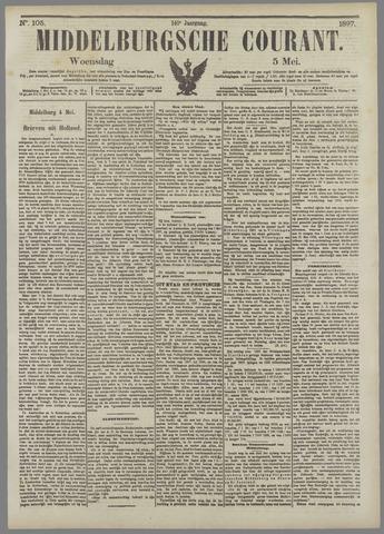 Middelburgsche Courant 1897-05-05