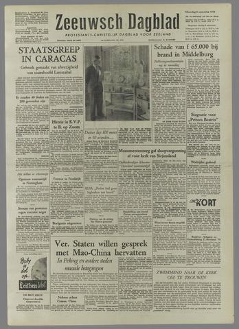 Zeeuwsch Dagblad 1958-09-08