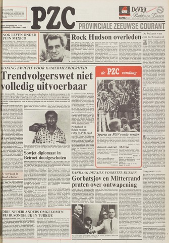 Provinciale Zeeuwse Courant 1985-10-03