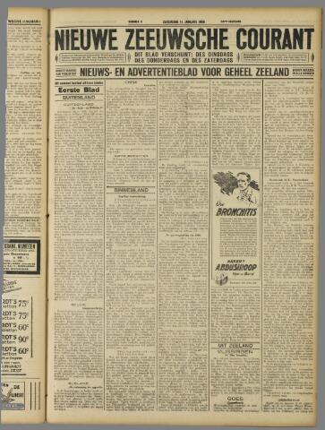 Nieuwe Zeeuwsche Courant 1928-01-14