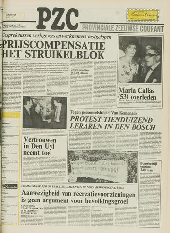 Provinciale Zeeuwse Courant 1977-09-17