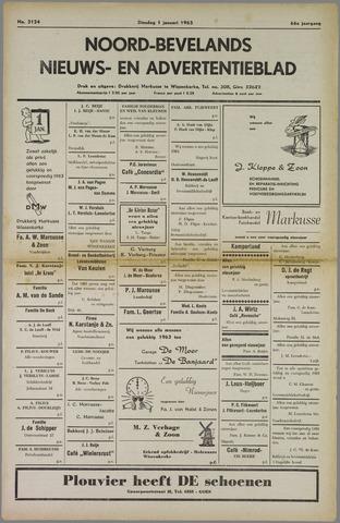 Noord-Bevelands Nieuws- en advertentieblad 1963