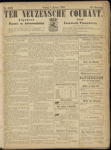 Ter Neuzensche Courant. Algemeen Nieuws- en Advertentieblad voor Zeeuwsch-Vlaanderen / Neuzensche Courant ... (idem) / (Algemeen) nieuws en advertentieblad voor Zeeuwsch-Vlaanderen 1897-01-01