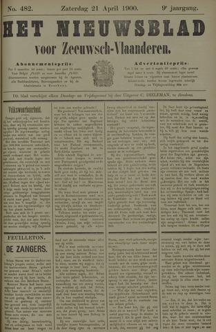 Nieuwsblad voor Zeeuwsch-Vlaanderen 1900-04-21