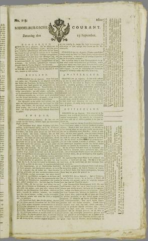 Middelburgsche Courant 1810-09-15
