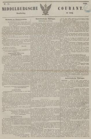 Middelburgsche Courant 1850-06-27