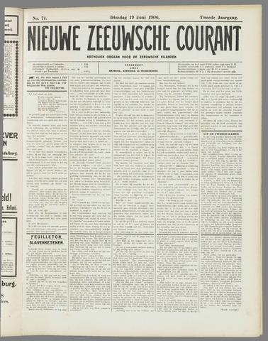 Nieuwe Zeeuwsche Courant 1906-06-19