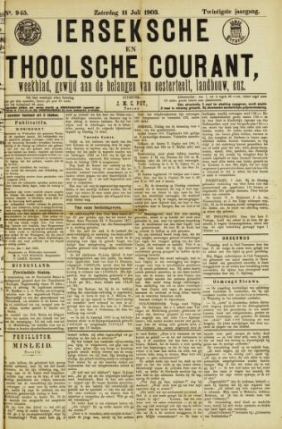 Ierseksche en Thoolsche Courant 1903-07-11