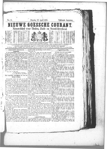 Nieuwe Goessche Courant 1880-04-20