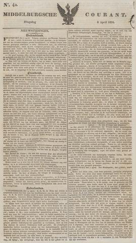 Middelburgsche Courant 1834-04-08