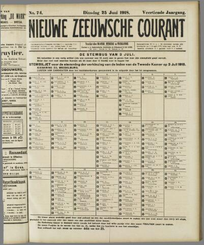 Nieuwe Zeeuwsche Courant 1918-06-25