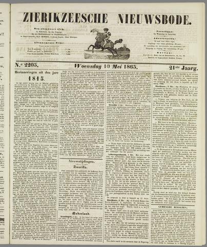 Zierikzeesche Nieuwsbode 1865-05-10