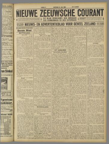Nieuwe Zeeuwsche Courant 1926-07-24