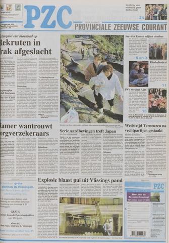 Provinciale Zeeuwse Courant 2004-10-25