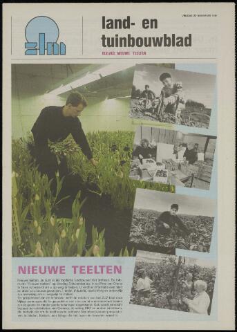 Zeeuwsch landbouwblad ... ZLM land- en tuinbouwblad 1991-11-22