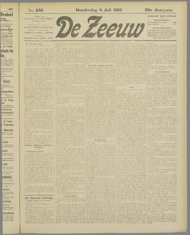 De Zeeuw. Christelijk-historisch nieuwsblad voor Zeeland 1915-07-08