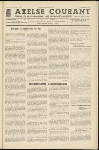 Axelsche Courant 1964-09-05