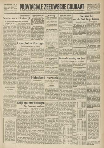 Provinciale Zeeuwse Courant 1947-04-21