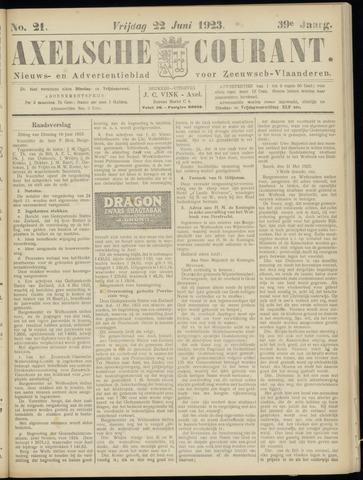 Axelsche Courant 1923-06-22