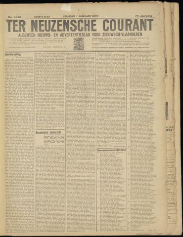 Ter Neuzensche Courant. Algemeen Nieuws- en Advertentieblad voor Zeeuwsch-Vlaanderen / Neuzensche Courant ... (idem) / (Algemeen) nieuws en advertentieblad voor Zeeuwsch-Vlaanderen 1937-01-01