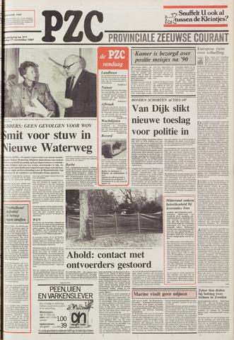 Provinciale Zeeuwse Courant 1987-11-17