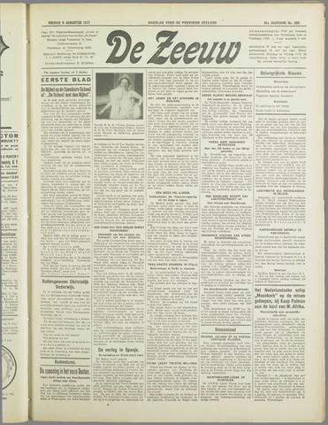 De Zeeuw. Christelijk-historisch nieuwsblad voor Zeeland 1937-08-06