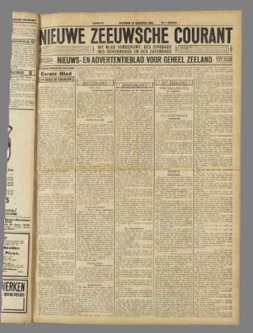 Nieuwe Zeeuwsche Courant 1933-08-19