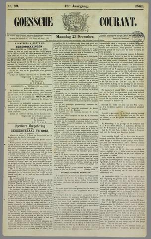 Goessche Courant 1861-12-23