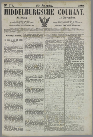 Middelburgsche Courant 1888-11-17