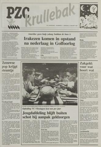 Provinciale Zeeuwse Courant katern Krullenbak (1981-1999) 1991-03-12