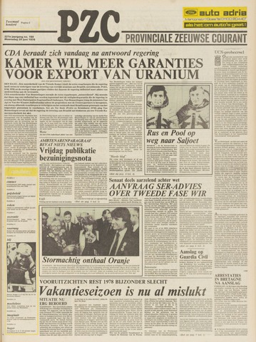 Provinciale Zeeuwse Courant 1978-06-28