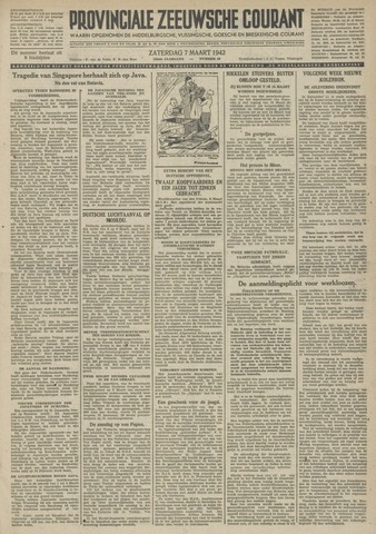 Provinciale Zeeuwse Courant 1942-03-07