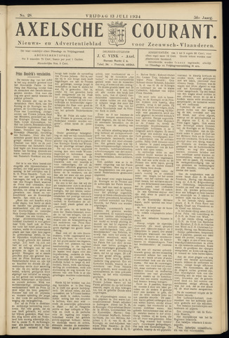 Axelsche Courant 1934-07-13