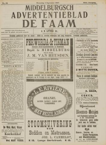 de Faam en de Faam/de Vlissinger 1907-09-04