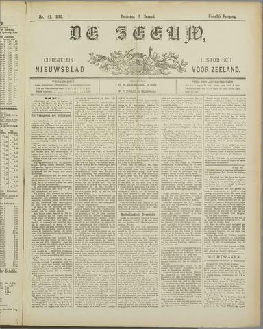 De Zeeuw. Christelijk-historisch nieuwsblad voor Zeeland 1898-01-06