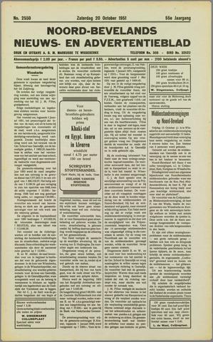 Noord-Bevelands Nieuws- en advertentieblad 1951-10-20