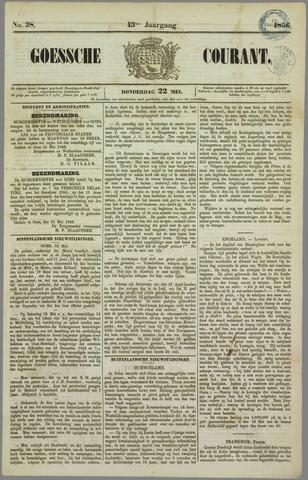 Goessche Courant 1856-05-22