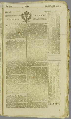 Middelburgsche Courant 1807-11-24