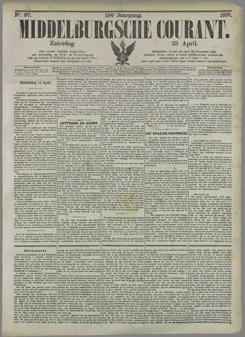 Middelburgsche Courant 1891-04-25