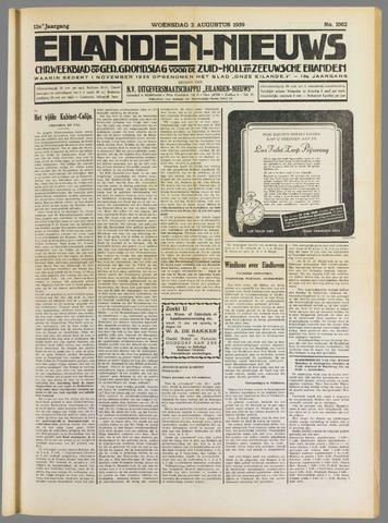 Eilanden-nieuws. Christelijk streekblad op gereformeerde grondslag 1939-08-02