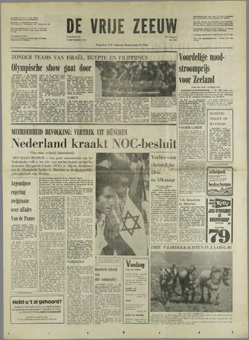 de Vrije Zeeuw 1972-09-07