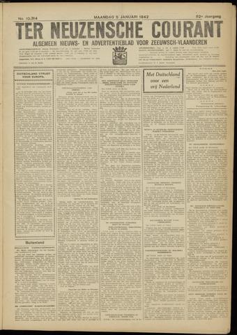 Ter Neuzensche Courant. Algemeen Nieuws- en Advertentieblad voor Zeeuwsch-Vlaanderen / Neuzensche Courant ... (idem) / (Algemeen) nieuws en advertentieblad voor Zeeuwsch-Vlaanderen 1942-01-05