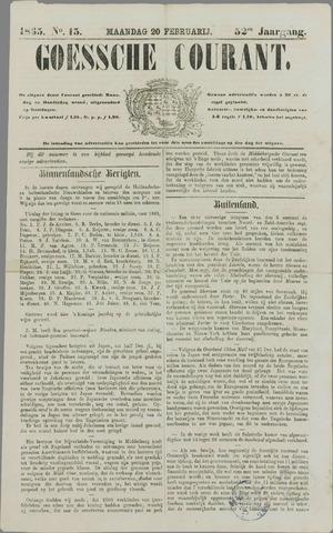 Goessche Courant 1865-02-20