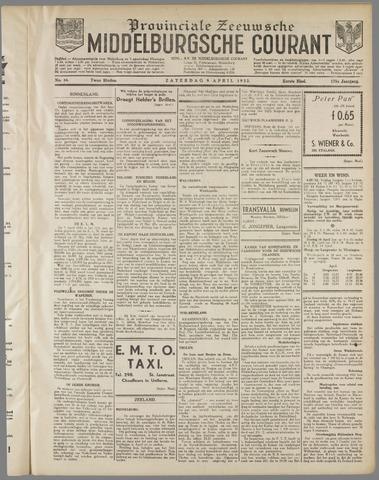 Middelburgsche Courant 1932-04-09