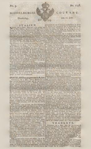 Middelburgsche Courant 1758-07-20
