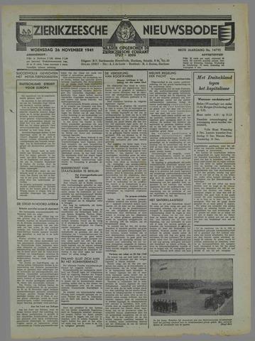 Zierikzeesche Nieuwsbode 1941-10-28