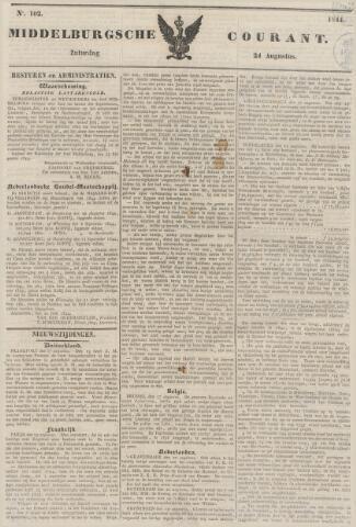 Middelburgsche Courant 1844-08-24