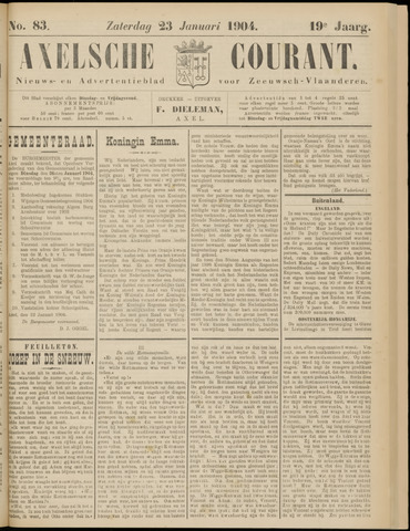 Axelsche Courant 1904-01-23