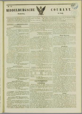 Middelburgsche Courant 1847-06-24