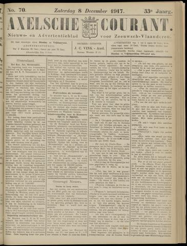 Axelsche Courant 1917-12-08